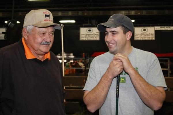 Farmer Mike Haley talks cattle
