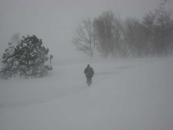 The 2009 Blizzard Through the Tweets of Two Farmers