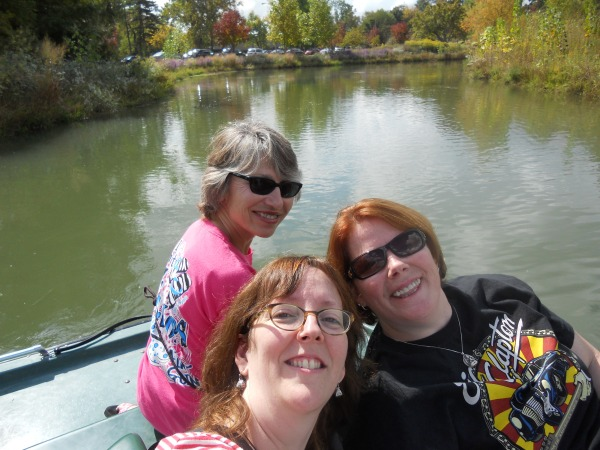 paddle boating in Forrest Park