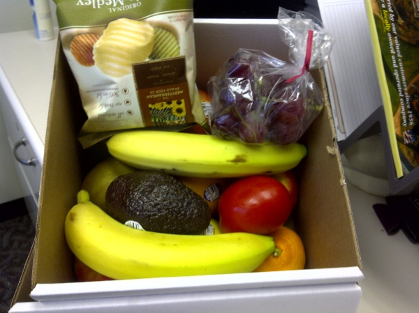 fresh fruit delivered to the office